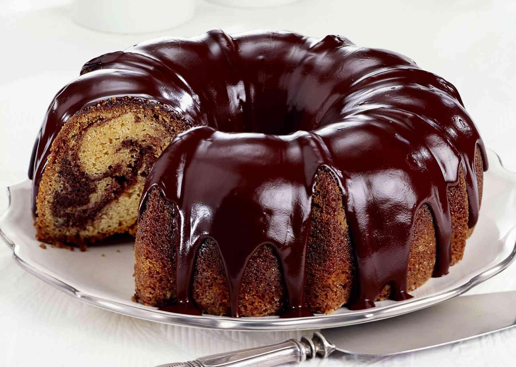 Delicious Marble Cake Recipe