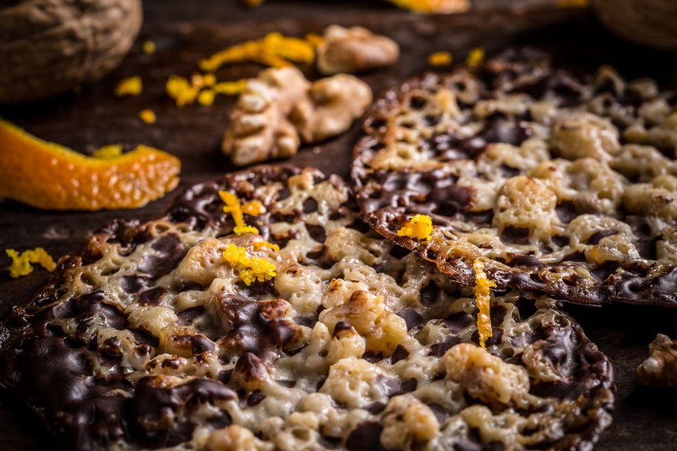 Polish Florentine cookies (florentynki)