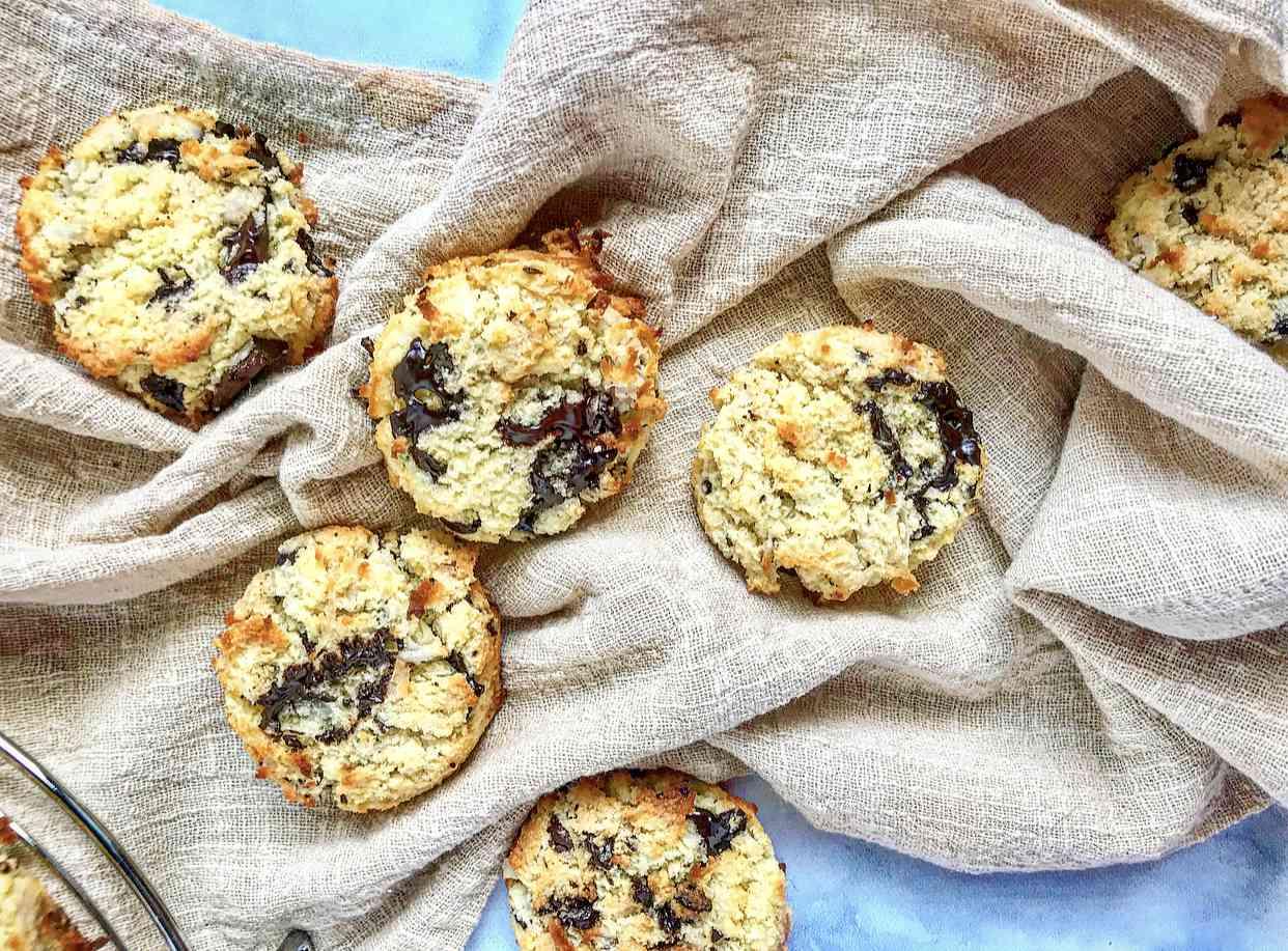 Gluten-free coconut flour cookies