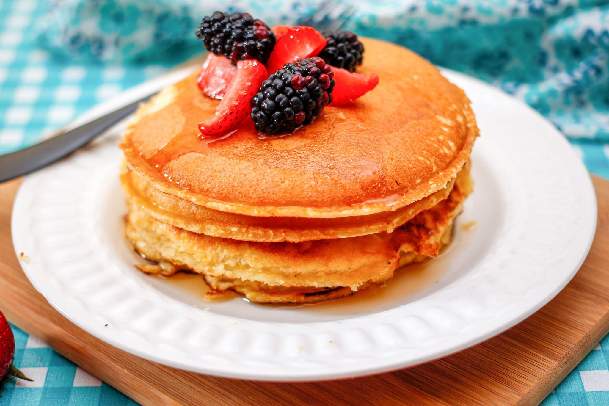 Dairy Free Classic Pancake Recipe