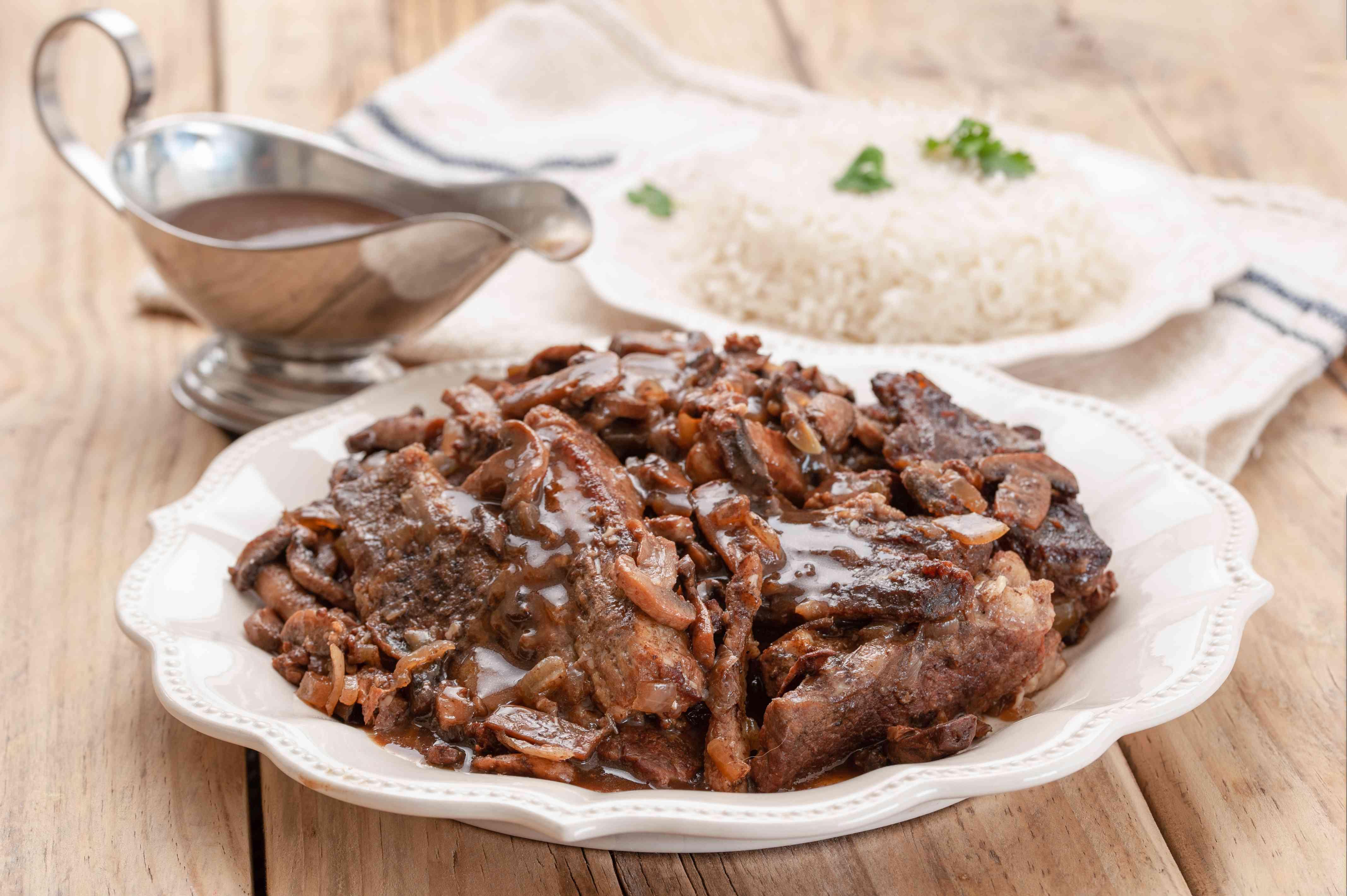 Slow cooker boneless beef short ribs recipe