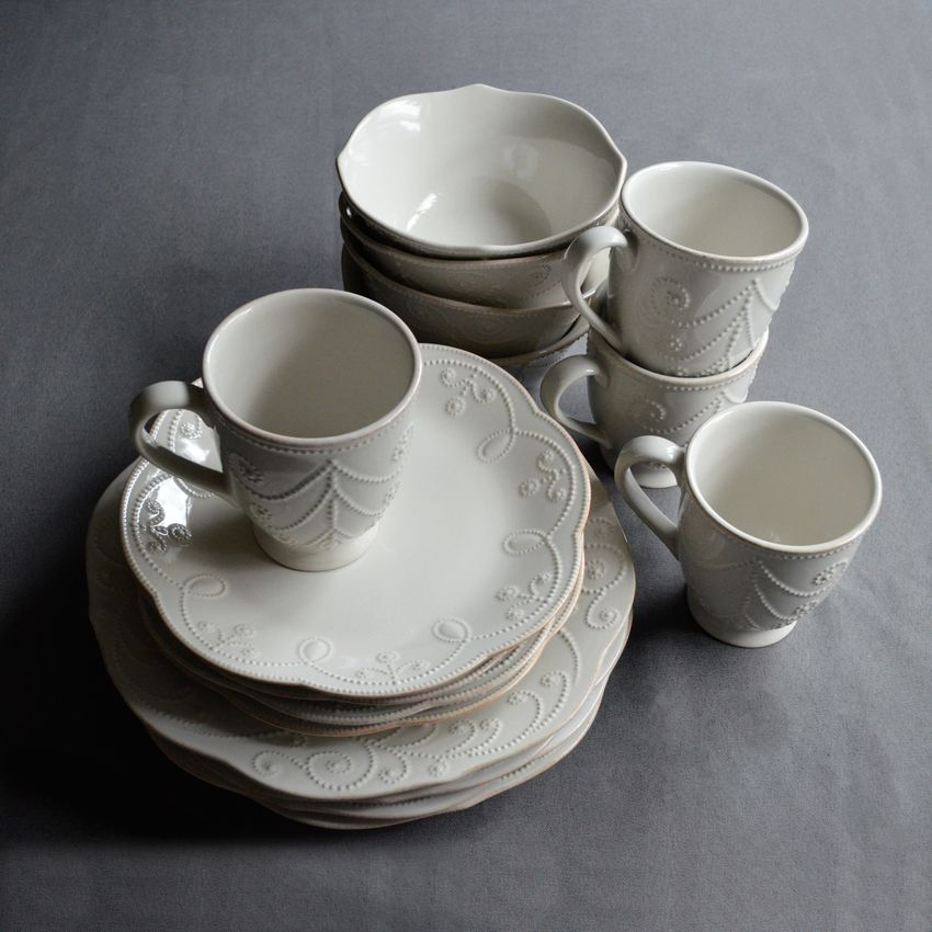 Lenox French Perle 4-Piece Place Setting