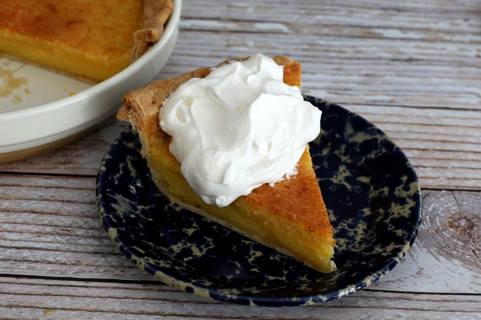 Orange Chess Pie