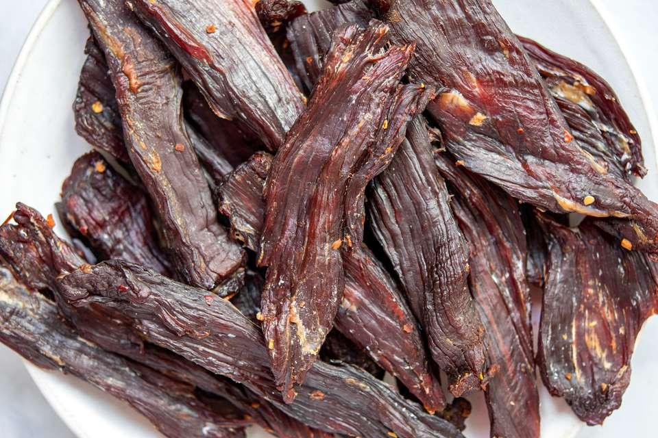 Hawaiian-Style Beef Jerky Recipe (Pipi Kaula) Recipe