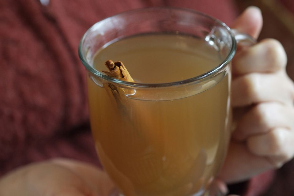 Spiced Cider Holiday Drink