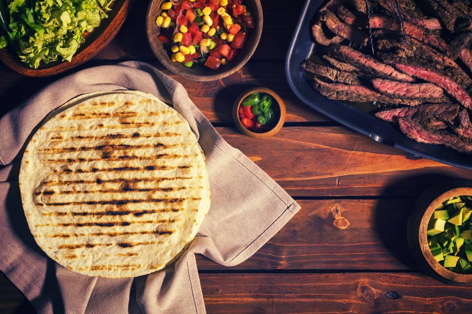 Beef Meat Tacos