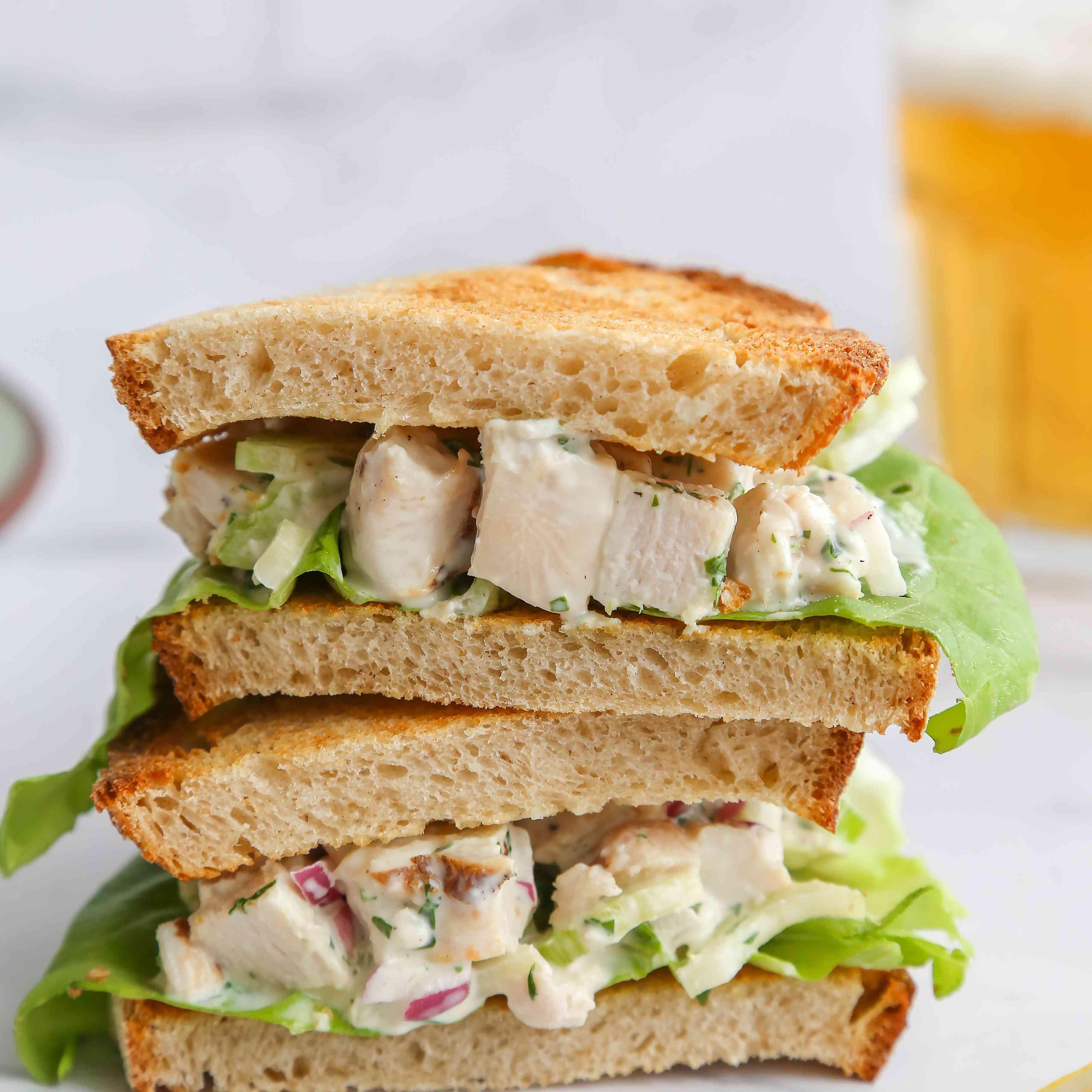 Perfect Turkey Salad Sandwich