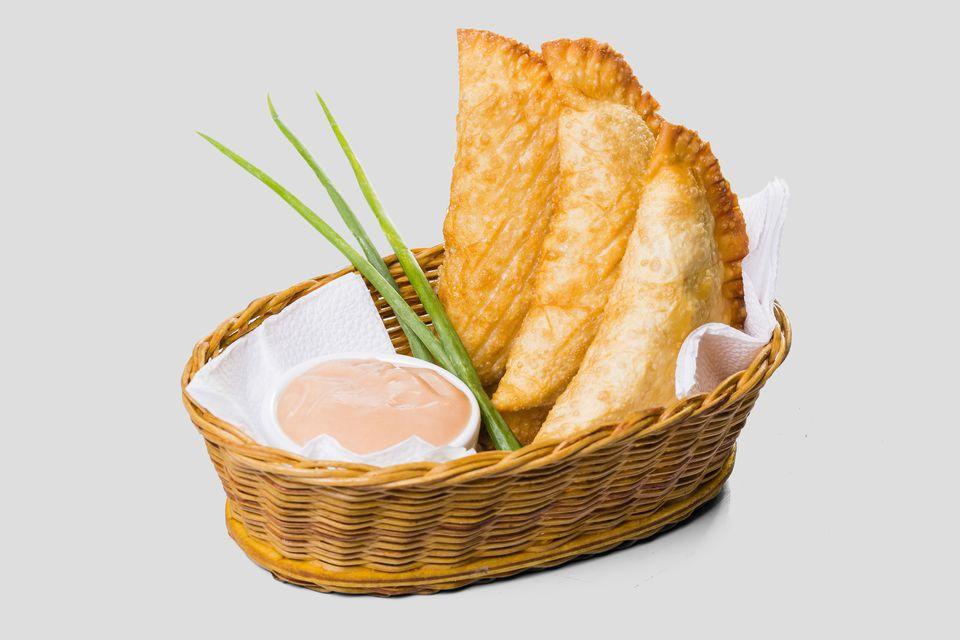 Pastel Frito de Frango