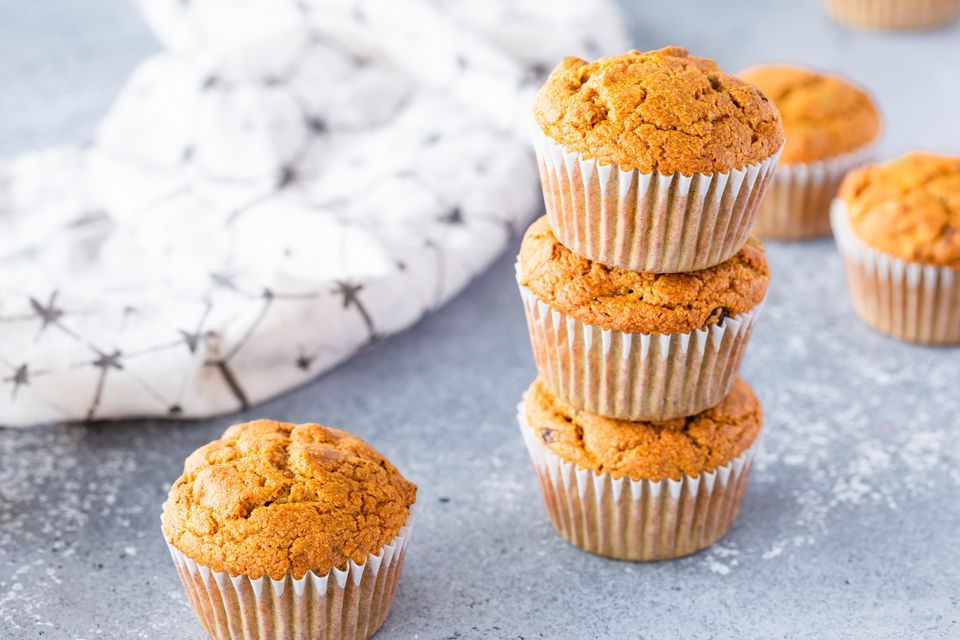 Whole Wheat Vegan Pumpkin Muffins
