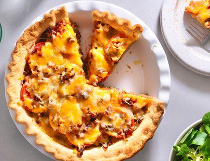 Savory Southern-Style Cheeseburger Pie