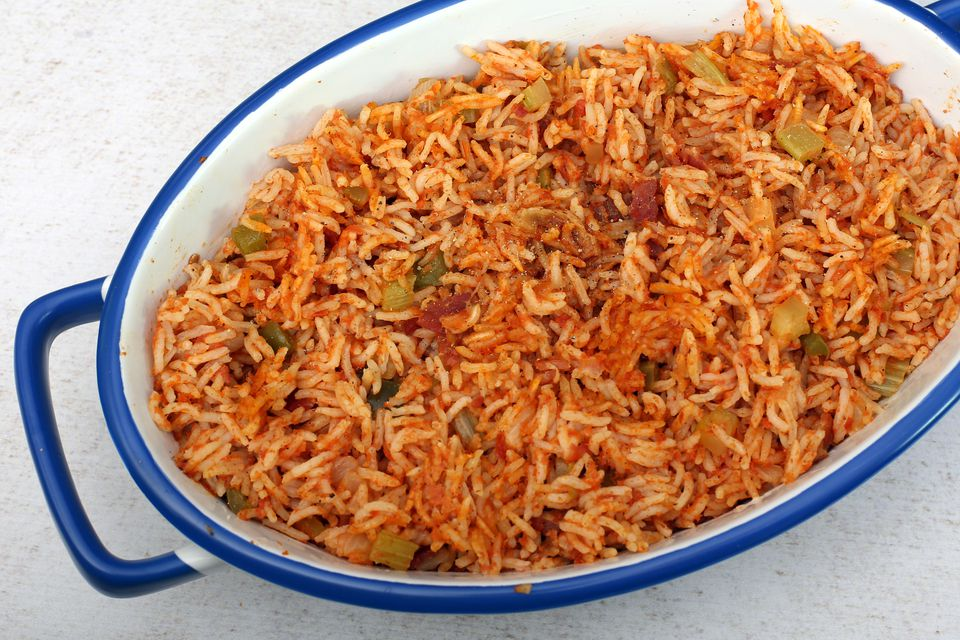 Southern Red Rice With Ham