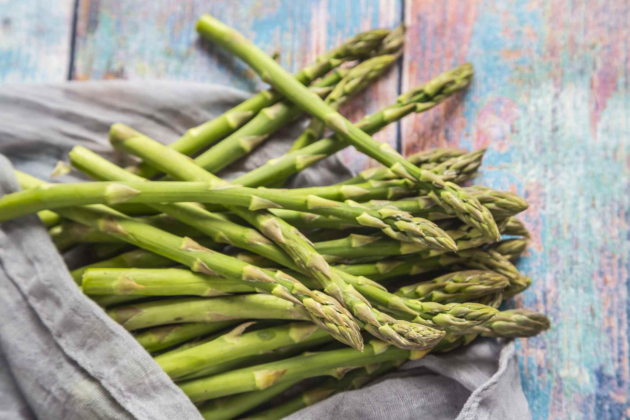 Bunch of Asparagus Spears