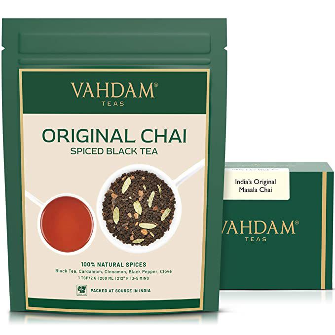 Vahdam Teas Original Masala Chai Tea Loose Leaf