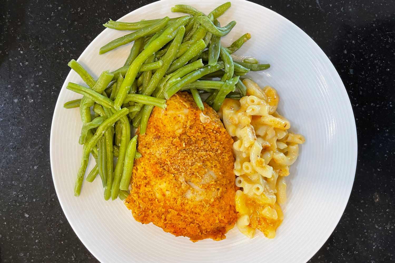 Freshly meal on plate