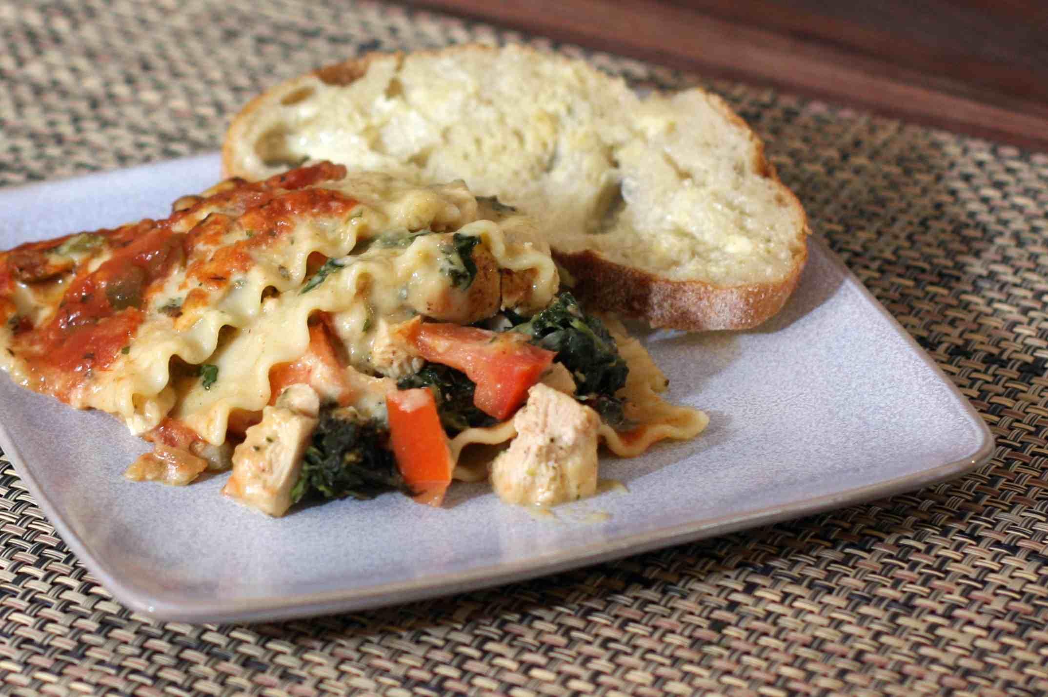 Chicken Lasagna With Tex-Mex Flavors