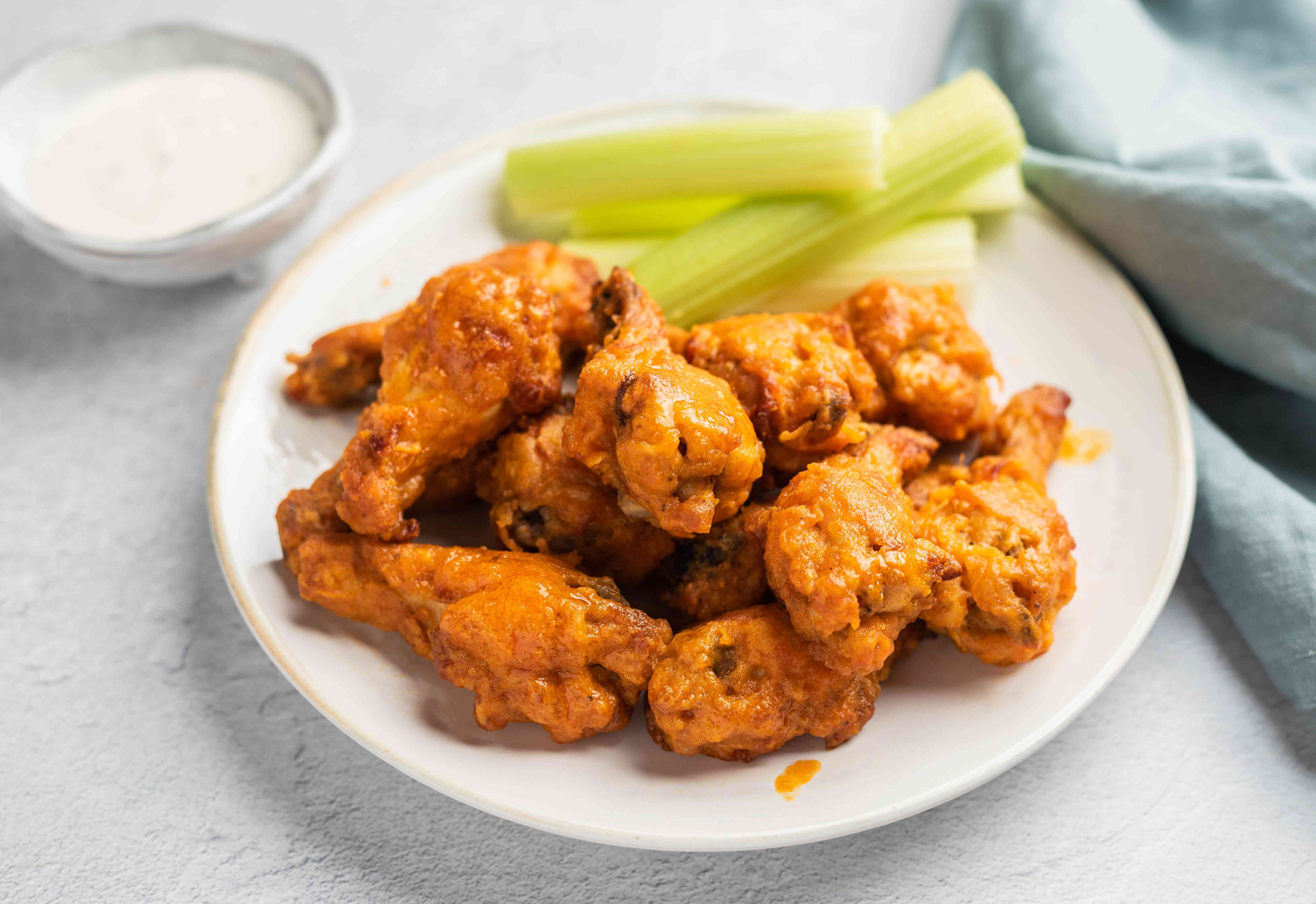 baked drumettes and wings
