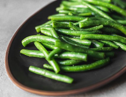 Steamed green beans recipe
