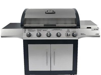 Brinkmann Select Dual Sear 5 Burner Gas Grill Model 810 6630 S Bbq Reviews