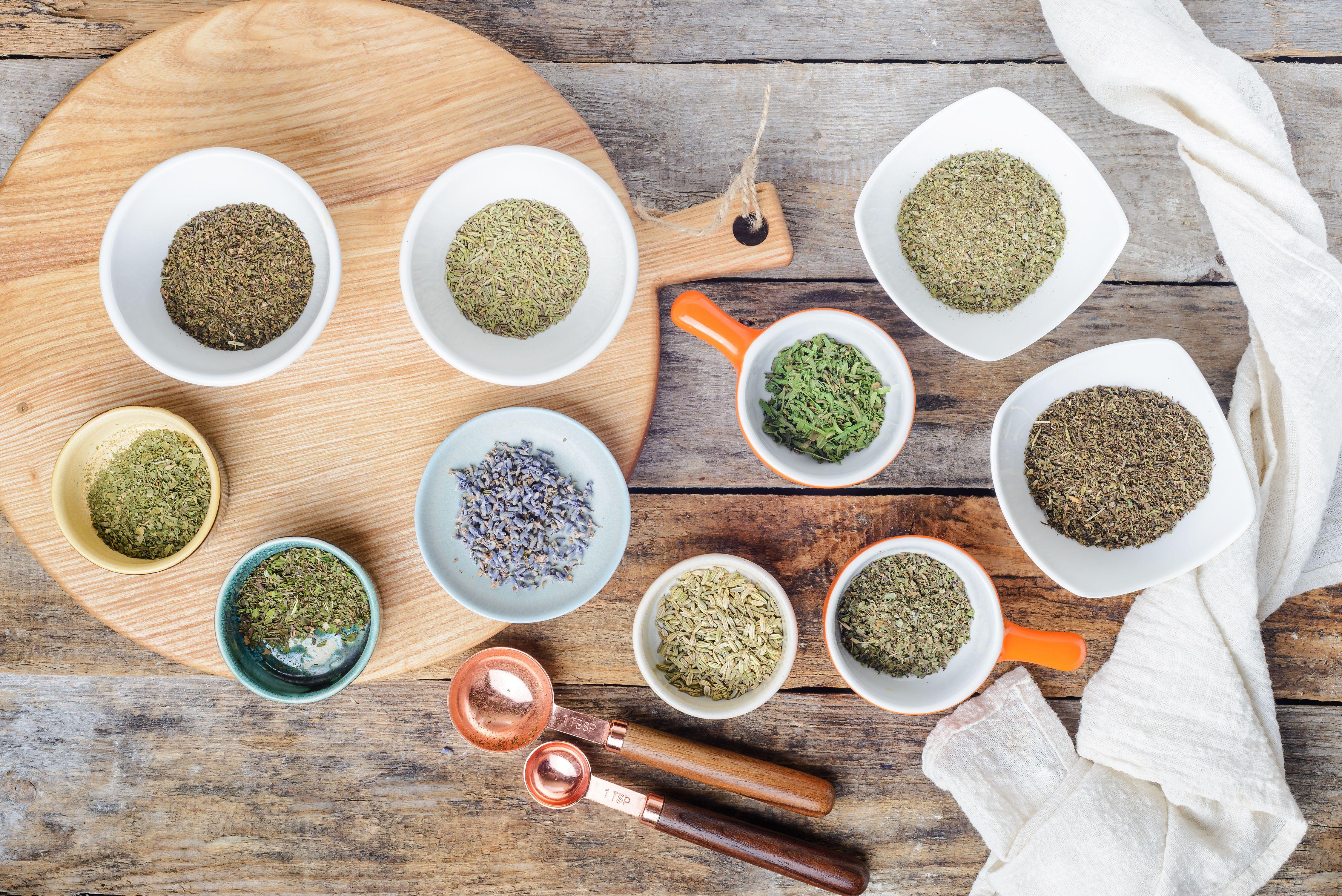 Ingredients for Herbs de Provence