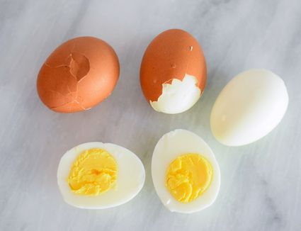 Peel and eat eggs