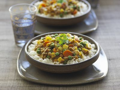 vegetarian indian yellow split pea dal recipe