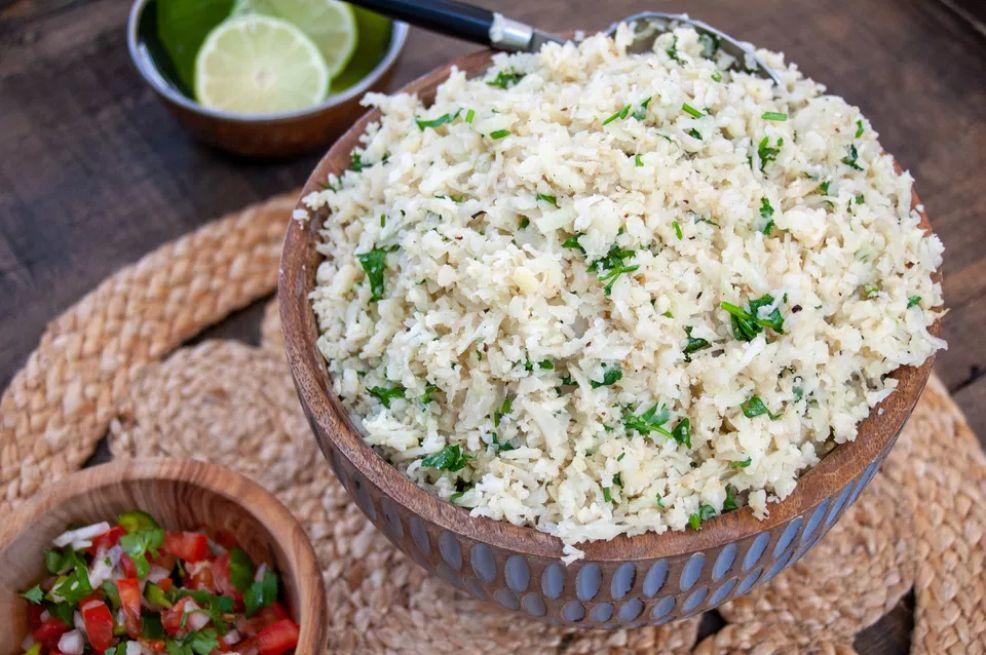 Cilantro-Lime Cauliflower Rice