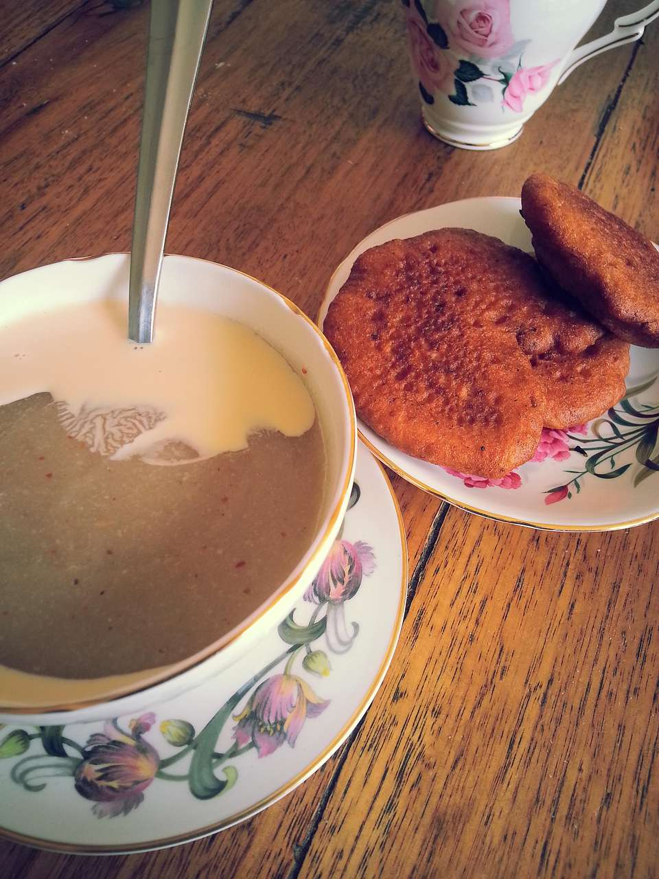 Hausa Koko with Evaporated Milk and Koose