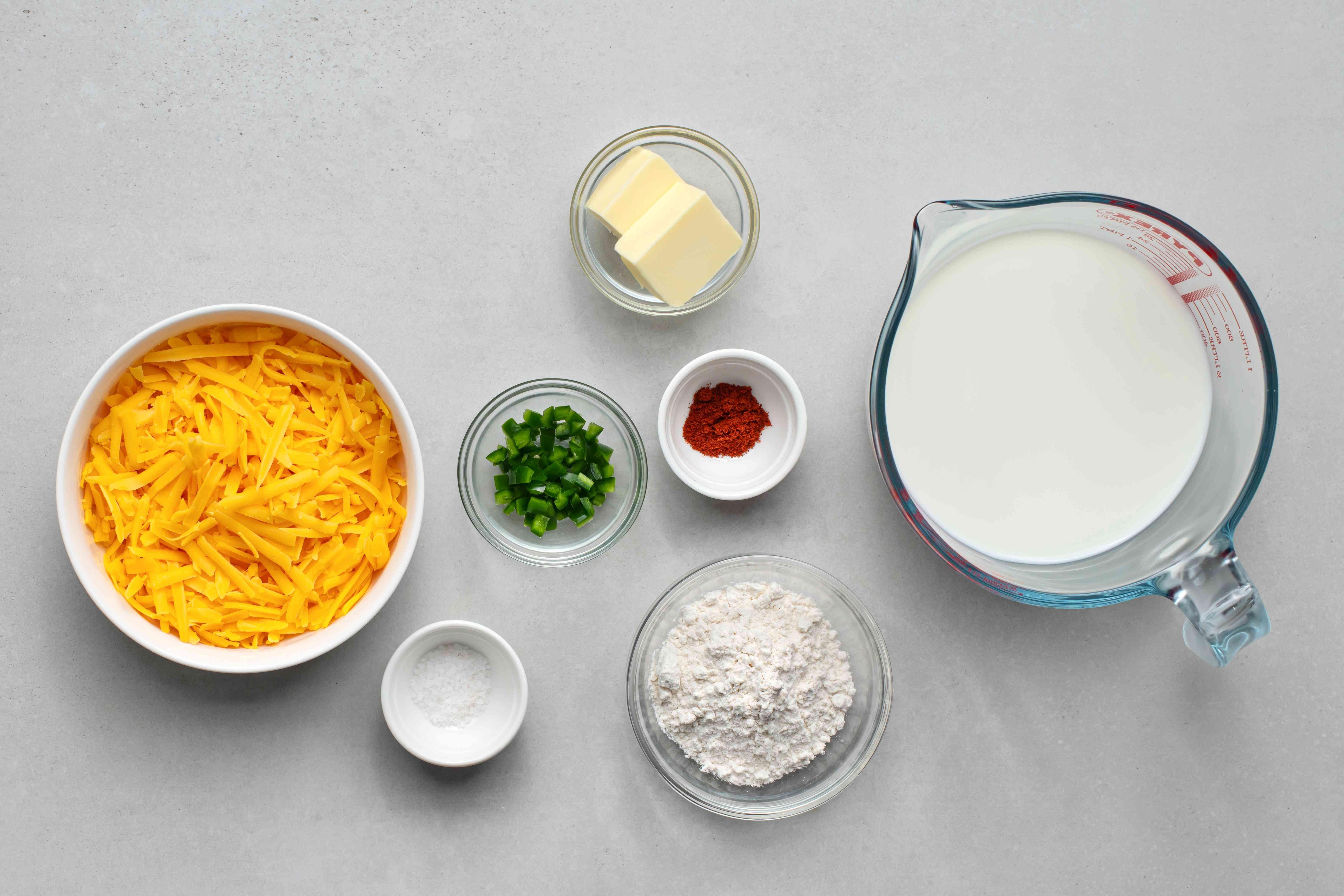 Salsa De Queso Cheese Sauce ingredients