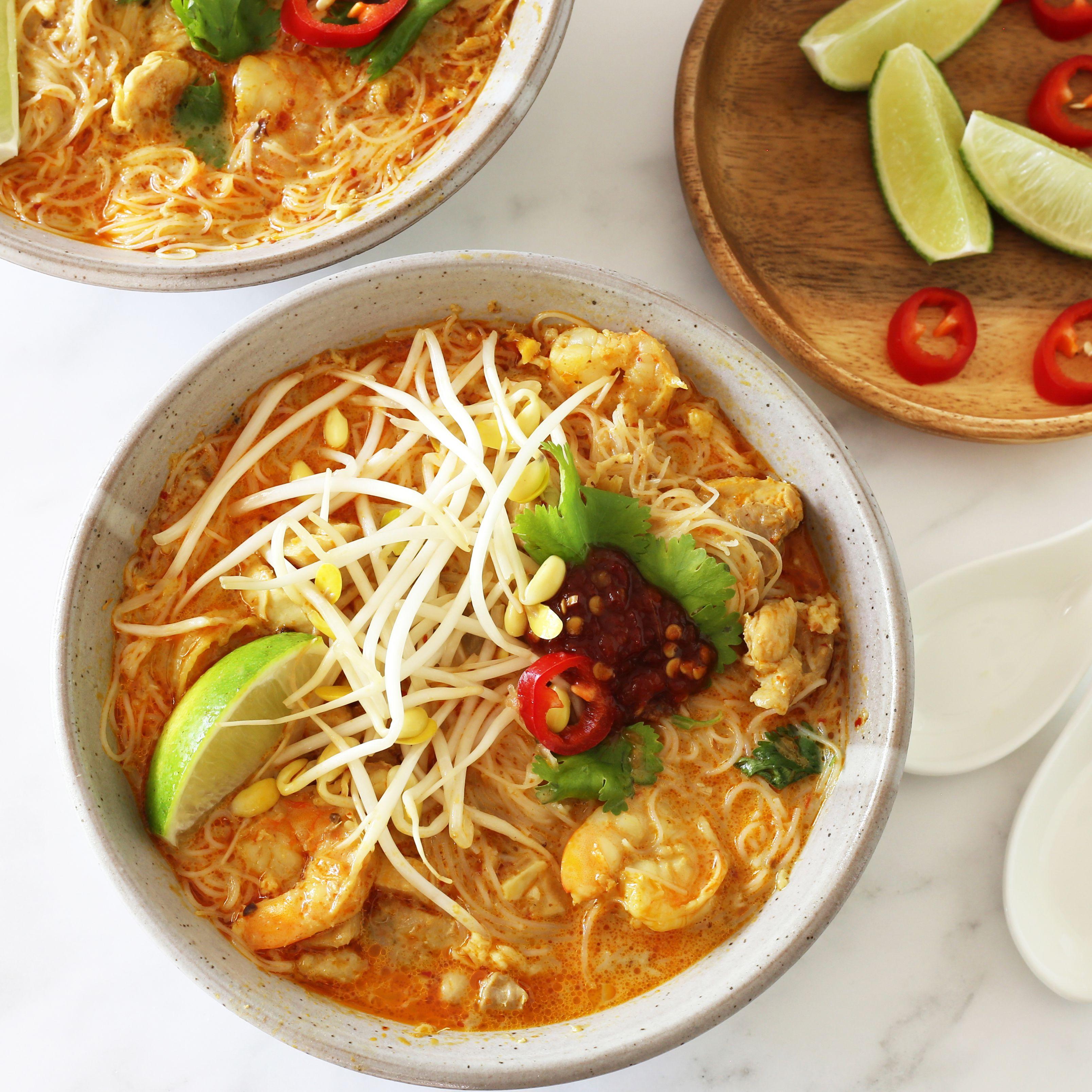 Curry Laksa Noodle Soup Recipe