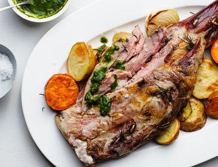Traditional Lamb Shoulder Roast