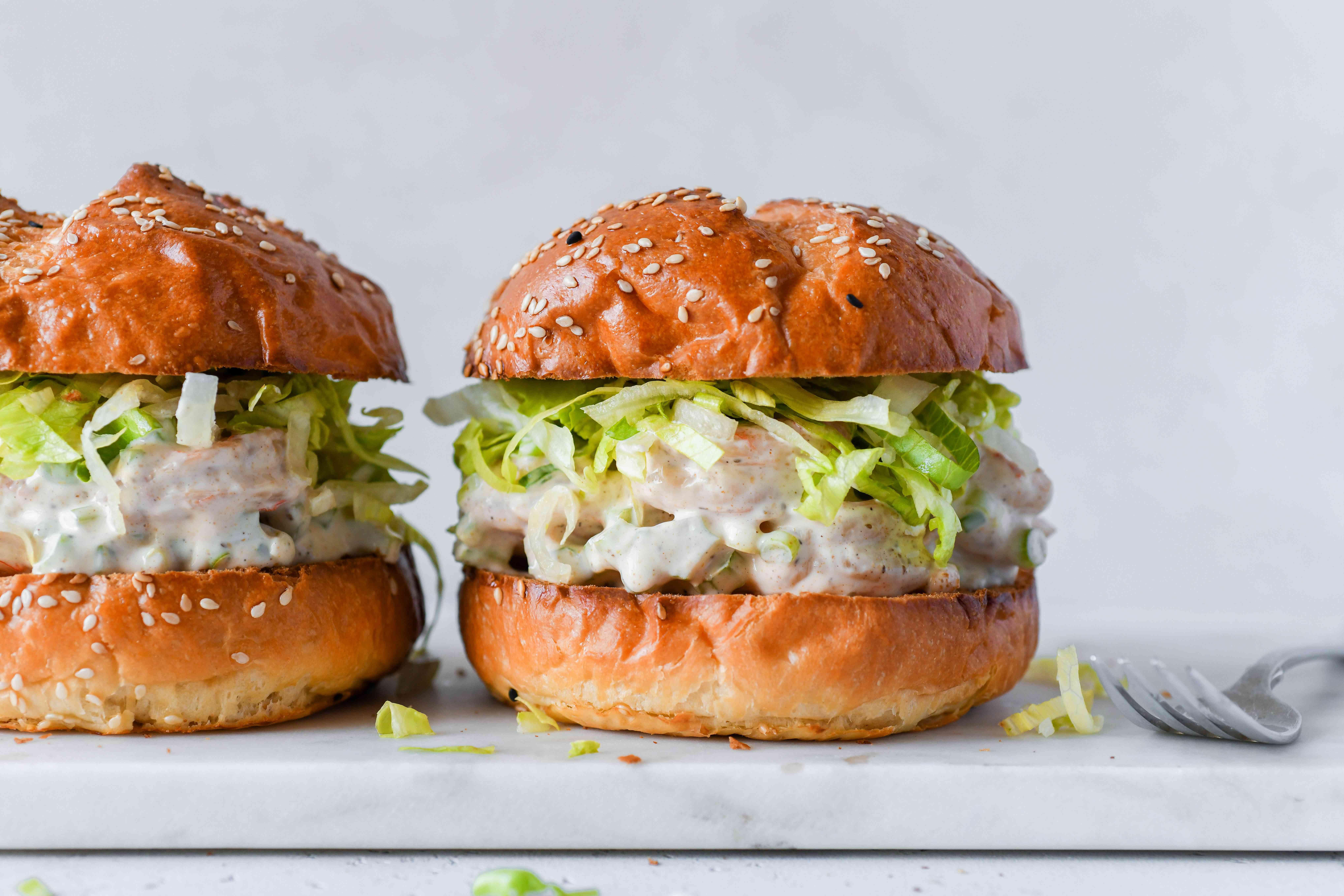 Shrimp Salad Sandwich recipe