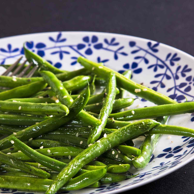 Sesame Green Beans