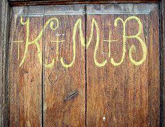 Photo of Three Kings Markings on Door