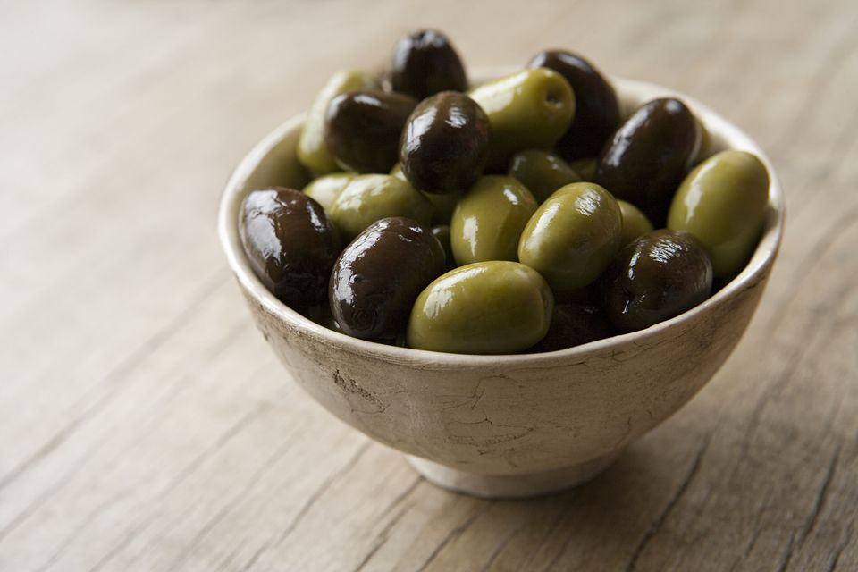 Bowl of olives