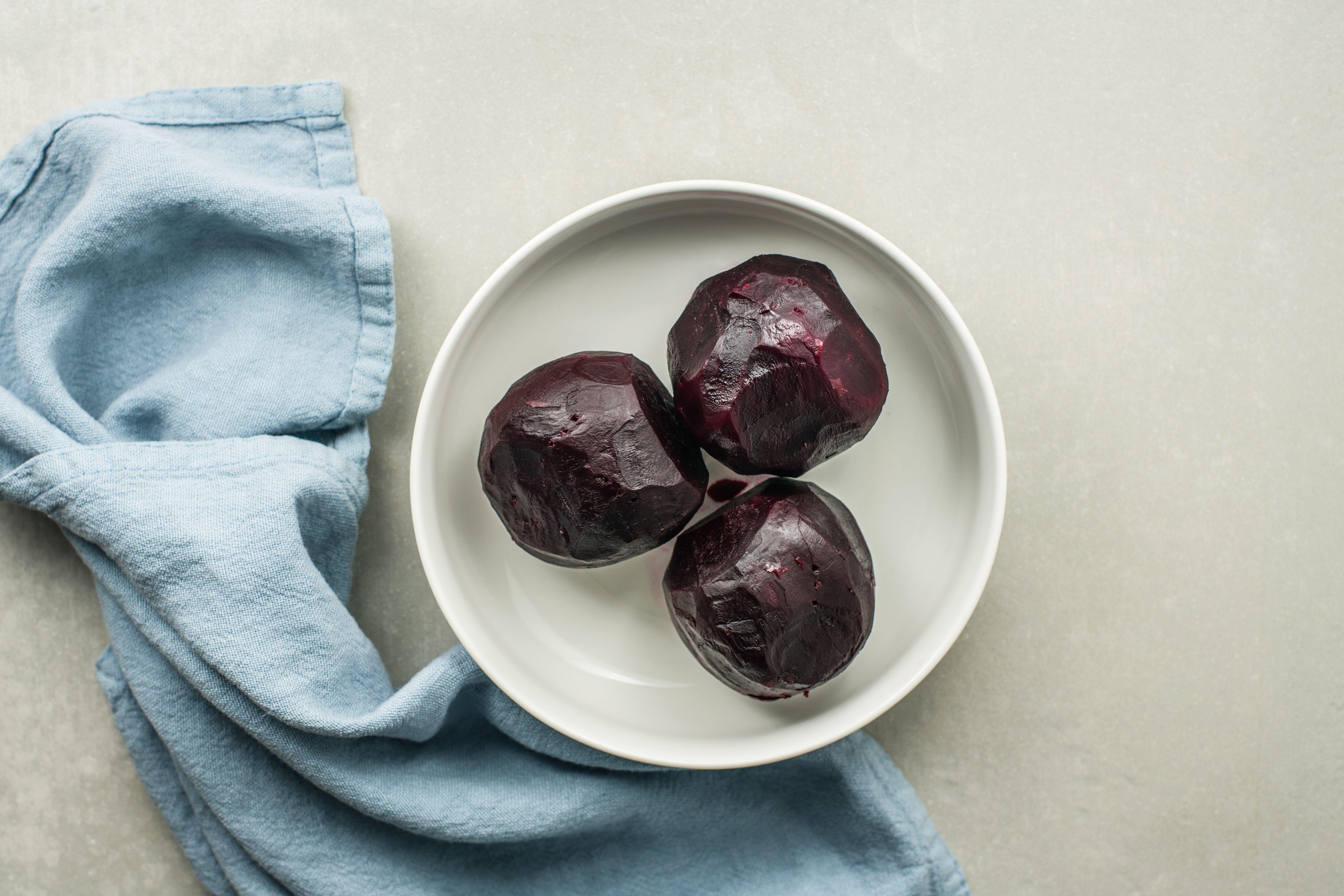 slip off skins of beets