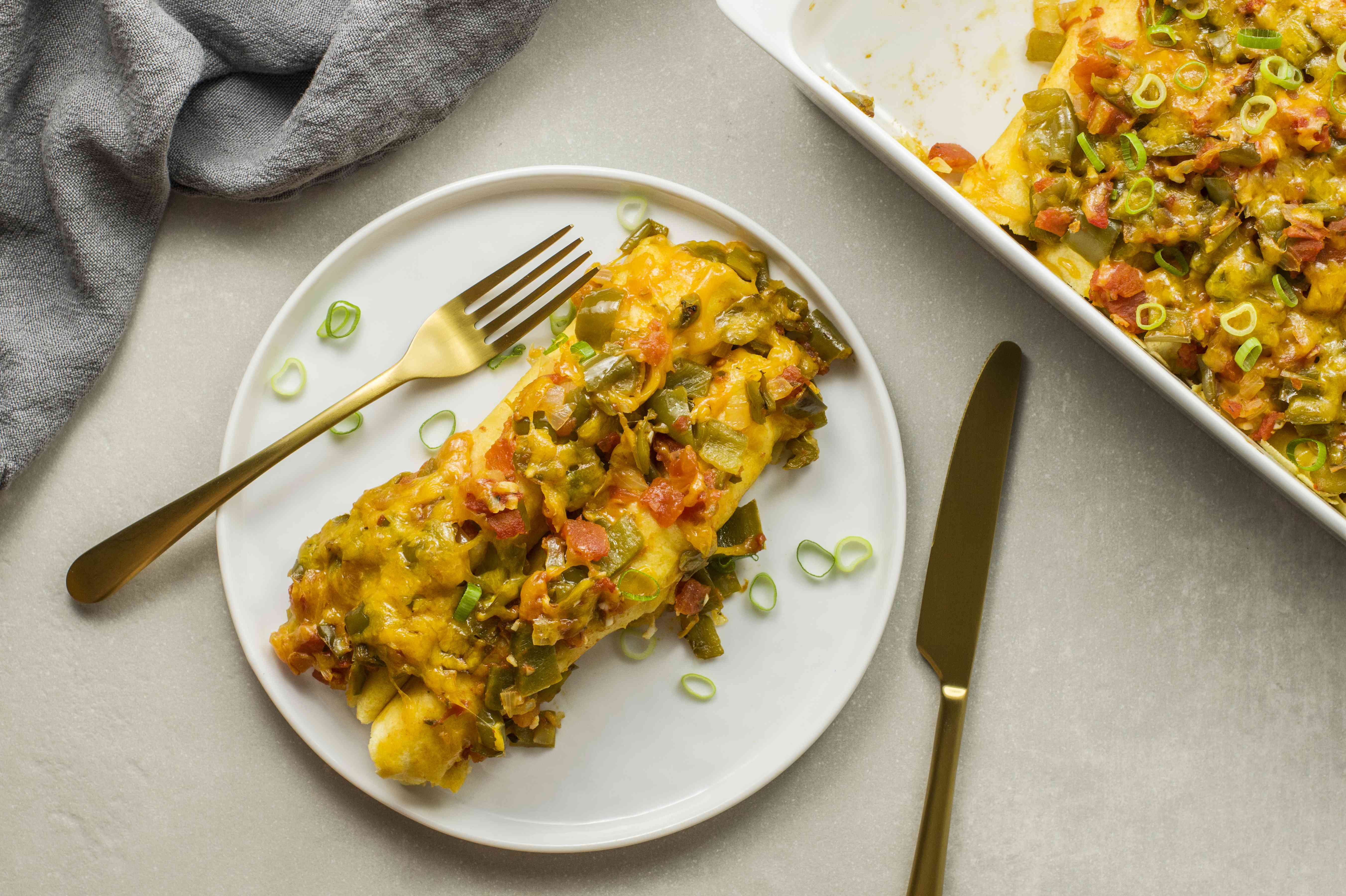 Baked turkey enchiladas recipe