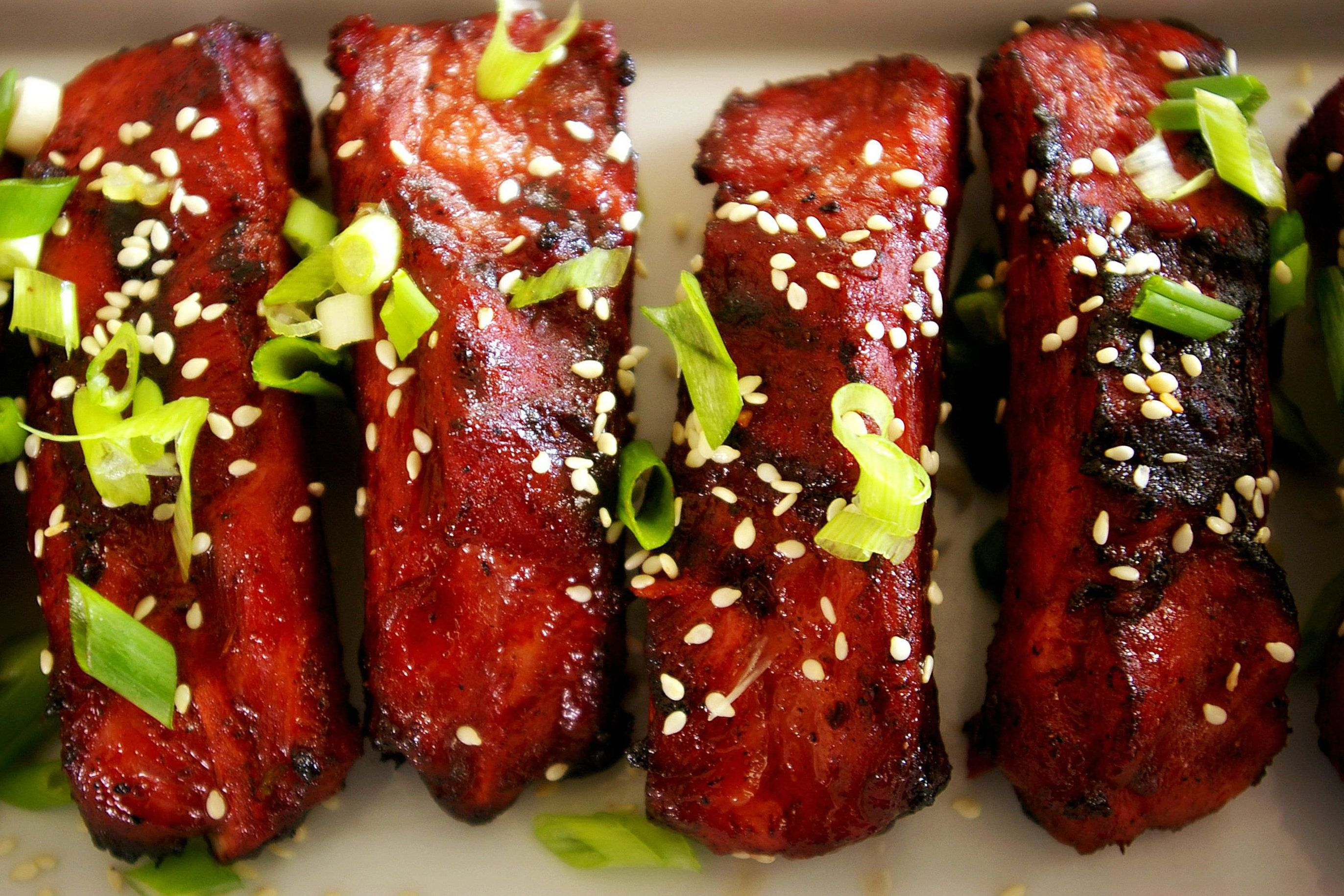 Chinese-Style Grilled Pork Ribs