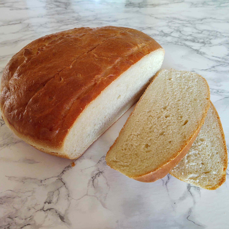Round White Bread Tester Image