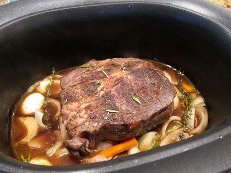 crock pot chuck roast no vegetables