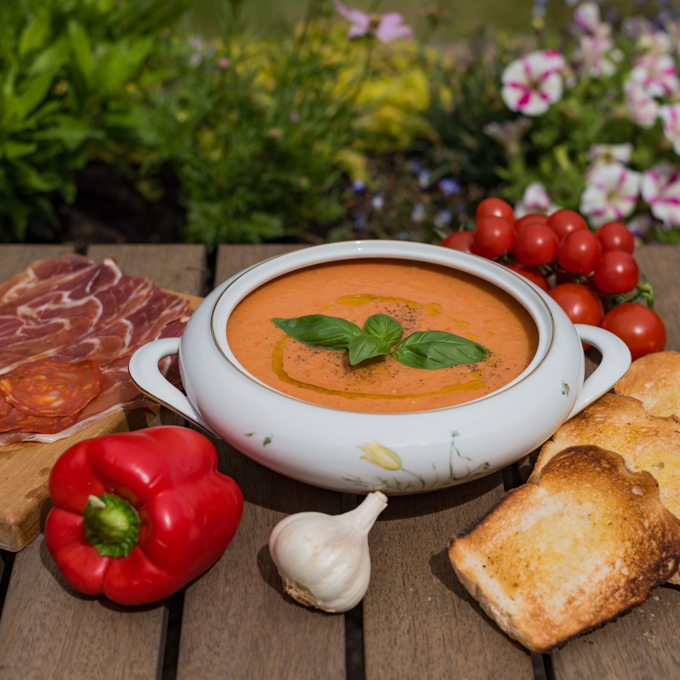 Easy Vegan Gazpacho Soup Recipe