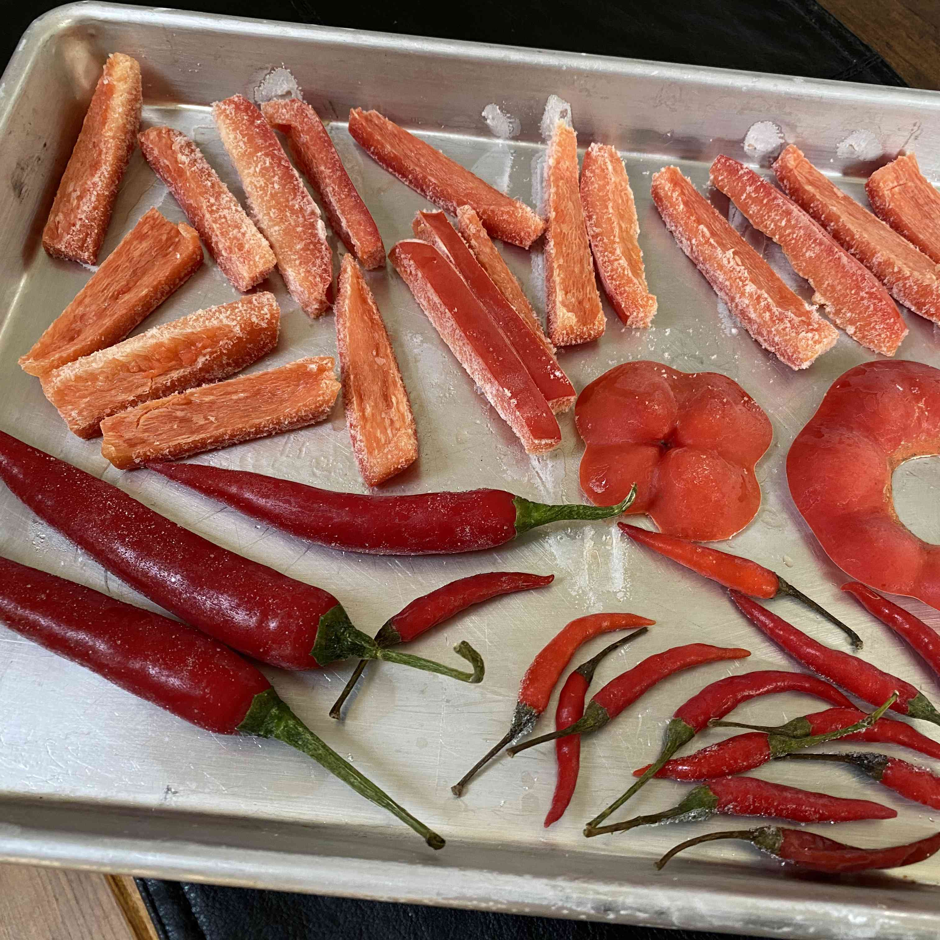 Frozen Fresh Peppers Tester Image