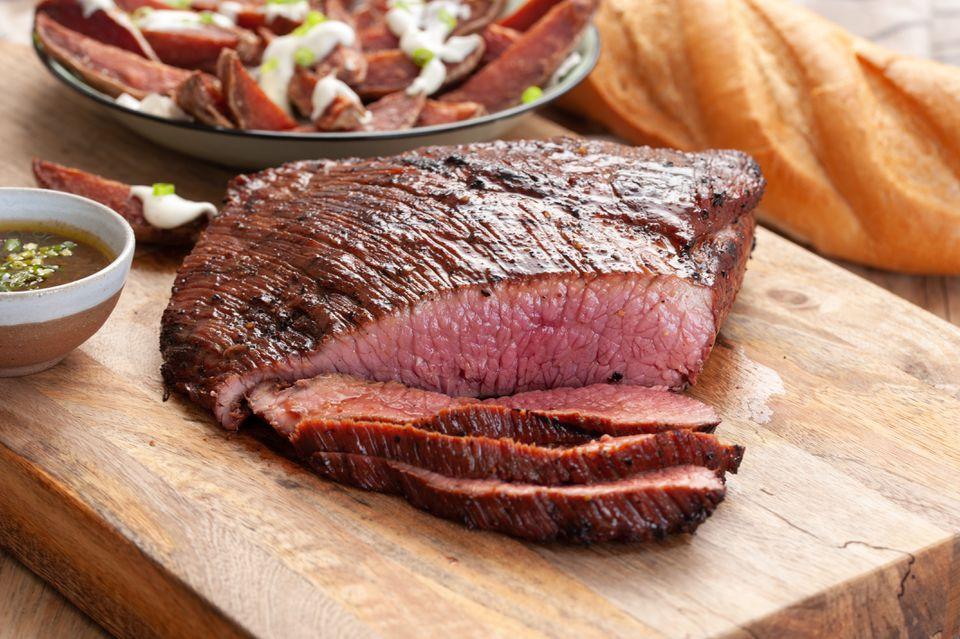 Best grilled marinated flank steak recipe
