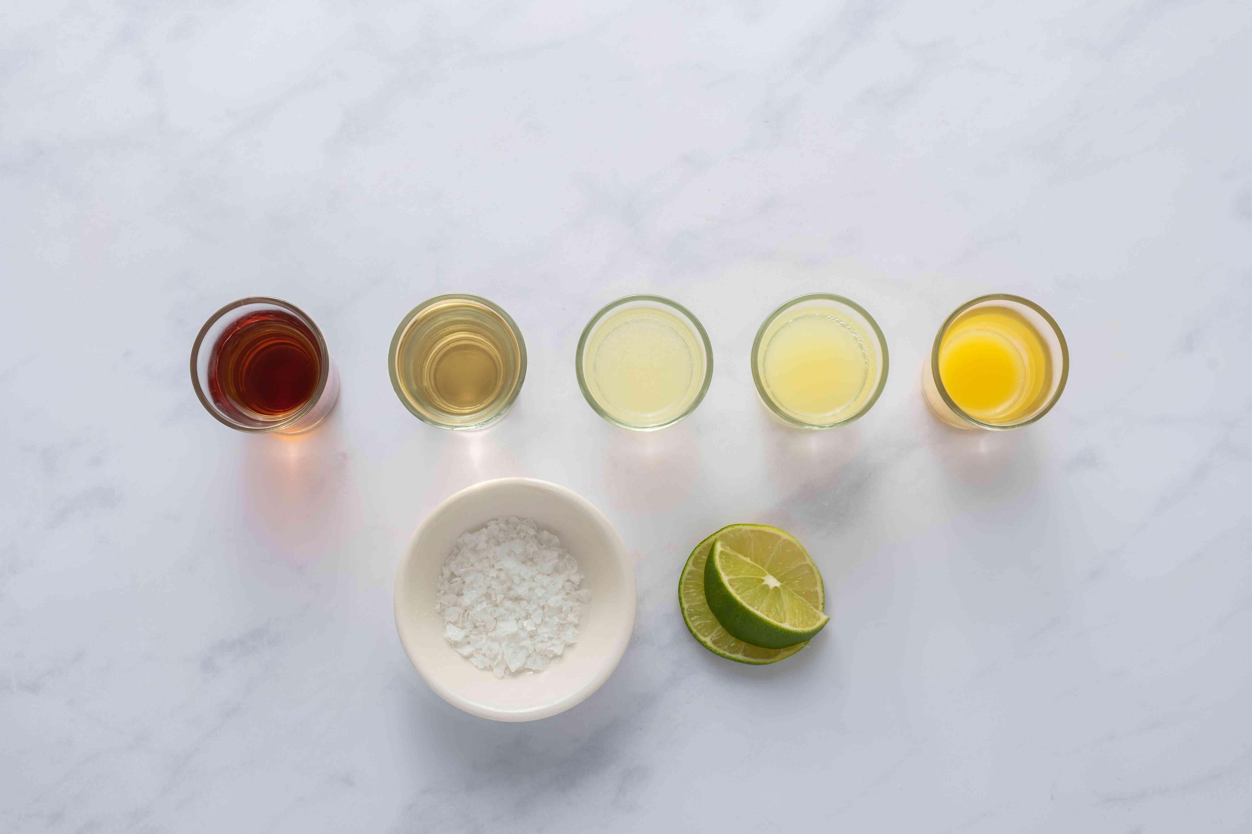 Golden Margarita ingredients