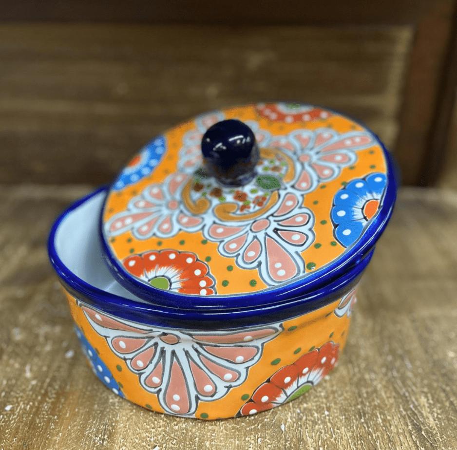 Blue Talavera Tortilla Holder