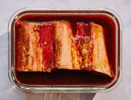 Beef Rib Marinade