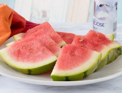 Drunken Watermelon Slices With Vodka