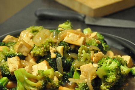 Vegan Chinese Broccoli And Tofu In Garlic Sauce Recipe