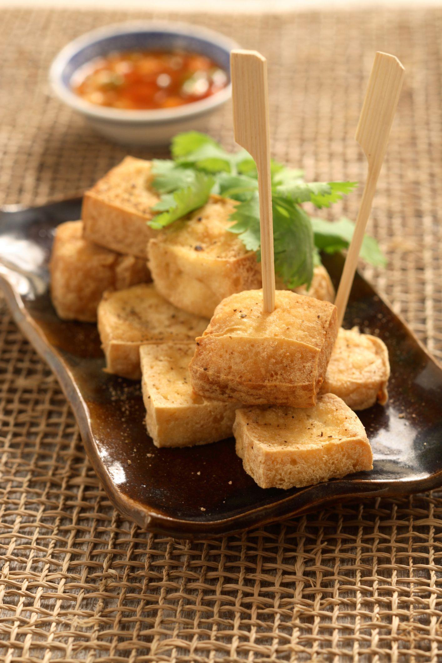 Easy Deep-Fried Tofu Recipe