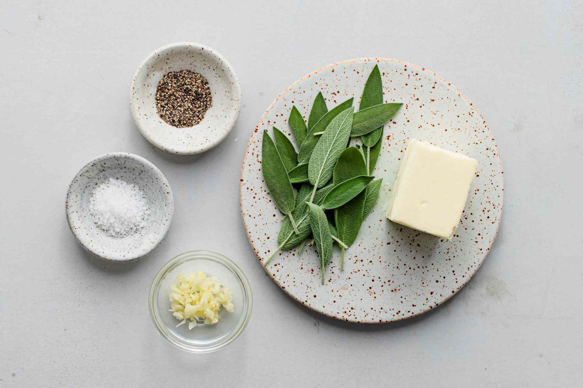 Sage brown butter sauce ingredients