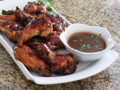 Oven-Baked Teriyaki Chicken Wings Recipe